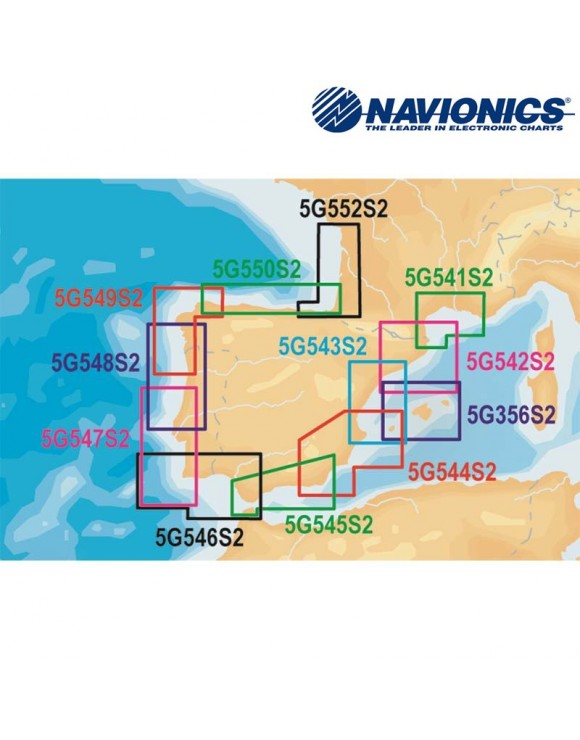 CARTA NAVIONICS Gold S2 mSD Norte de Portugal