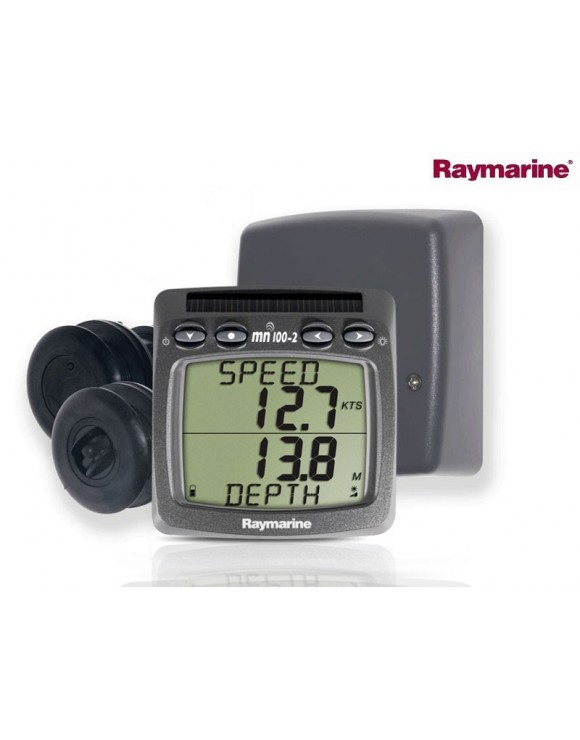 SISTEMA INALÁMBRICO BIDATA  CORREDERA Y PROFUNDIDAD PARA CRUCEROS RAYMARINE Tacktick T100