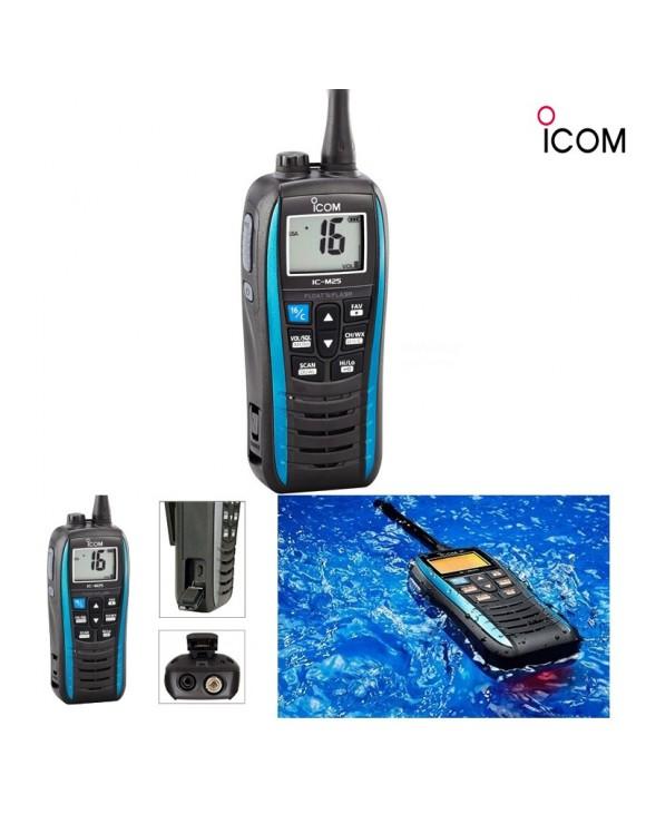 VHF ICOM M25 NO SOLAS