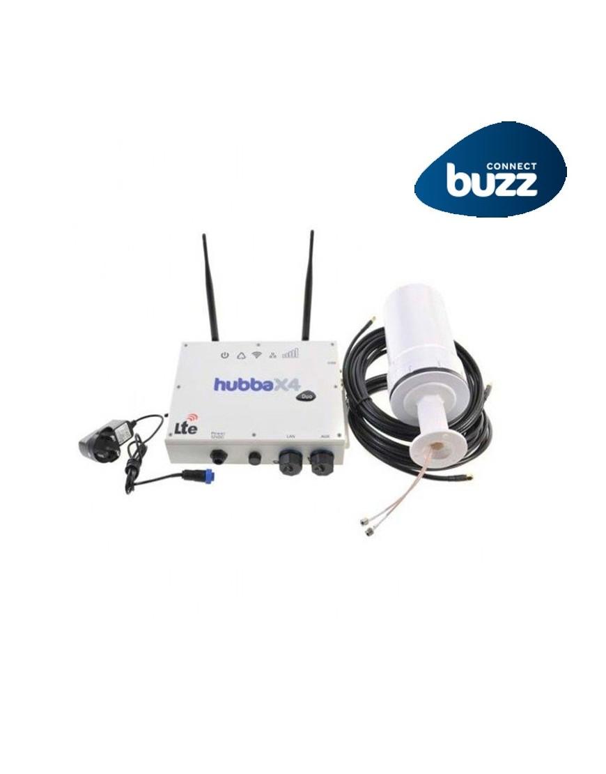 Antena Hubba X4 Duo, doble SIM, con modo repetidor WiFi
