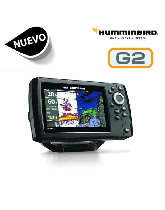 HELIX 5 CHIRP GPS G2 HUMMINBIRD