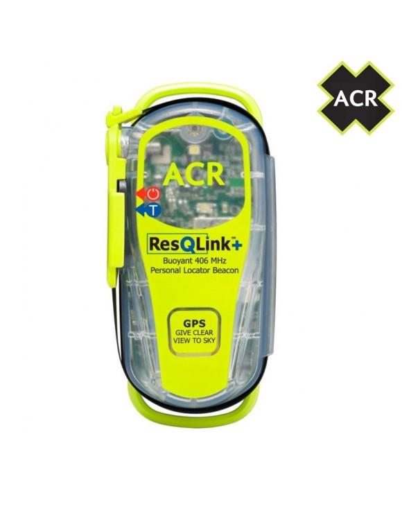 RADIOBALIZA PERSONAL ACR RESQLINK 406Mhz GPS PLUS