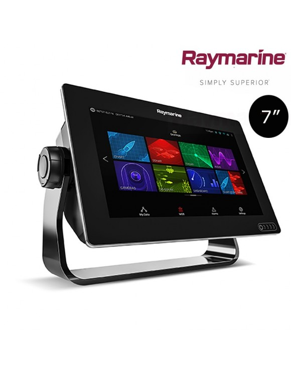 "Display AXIOM 7 RV RAYMARINE, 7"" con sonda 600W y RealVision 3D, sin transductor"
