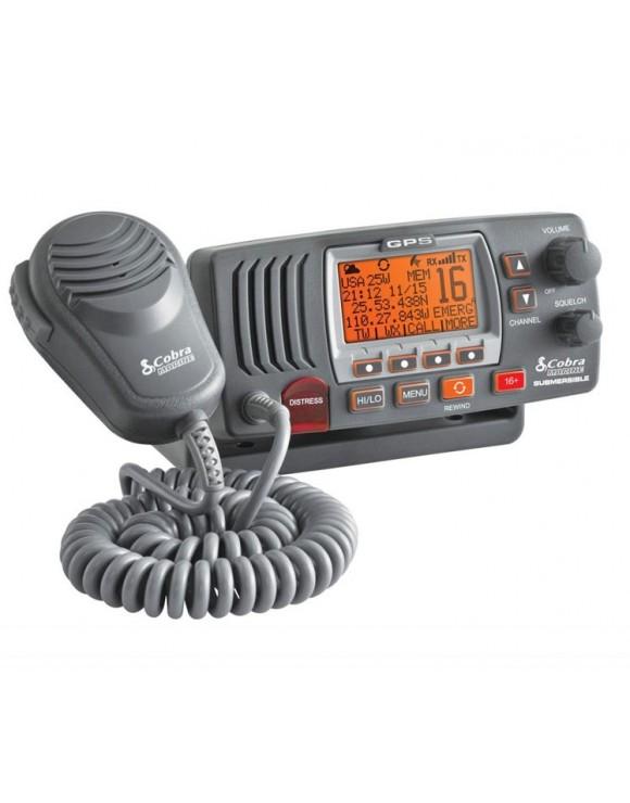 Radio VHF Fija MR F77B GPS COBRA MARINE