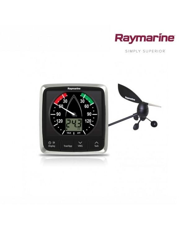 Sistema de viento RAYMARINE completo i60: Display con veleta y cable (30 metros)