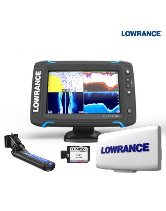 PACK ELITE-7 Ti LOWRANCE + CARTOGRAFÍA