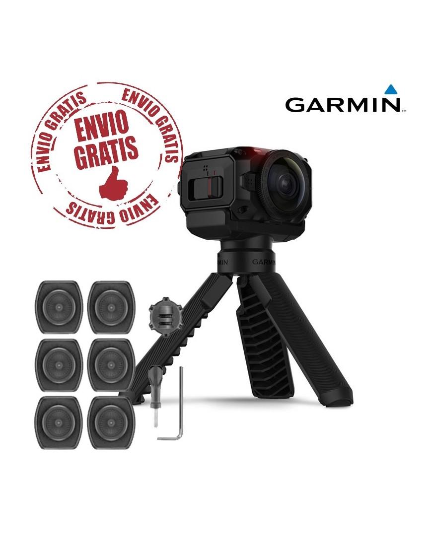 CÁMARA VIRB 360 GRADOS +   Kit de soportes giratorios