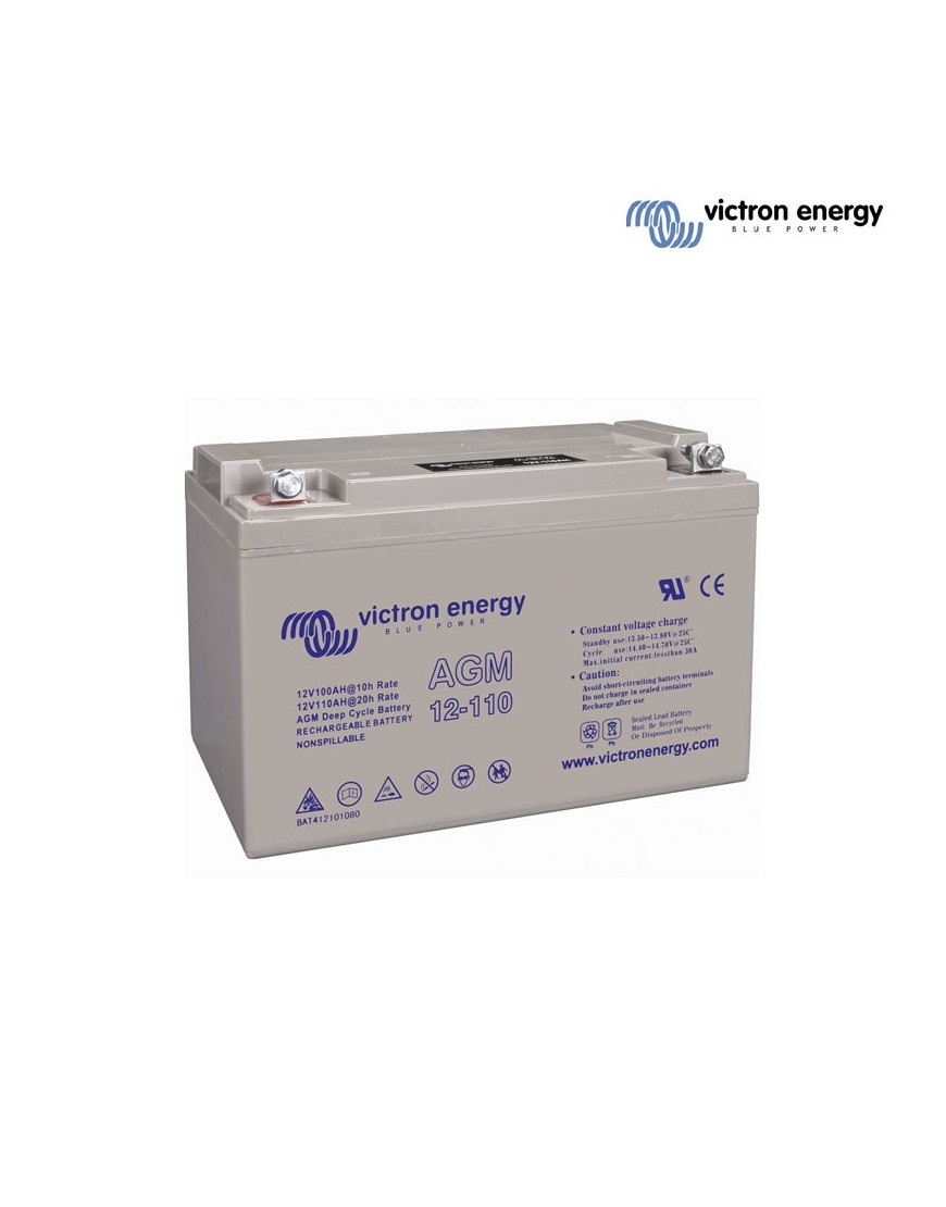 Batería AGM Deep Cycle 12V/110Ah
