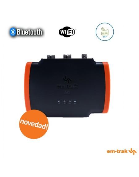 AIS B954 EM-TRAK con Splitter VHF incorporado, WiFi y Bluetooth.
