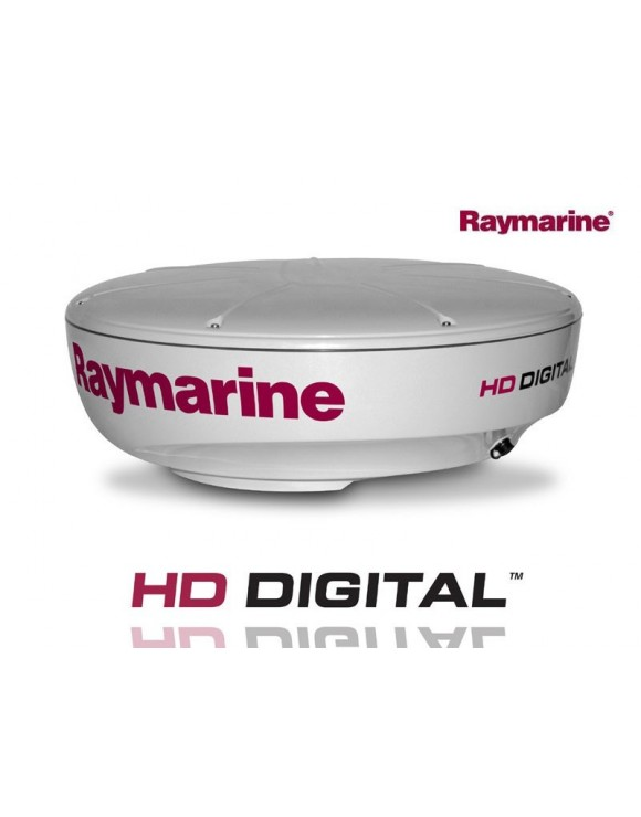"ANTENA RADAR CERRADA  HD DIGITAL COLOR RD418D 4kW, 18"" RAYMARINE"
