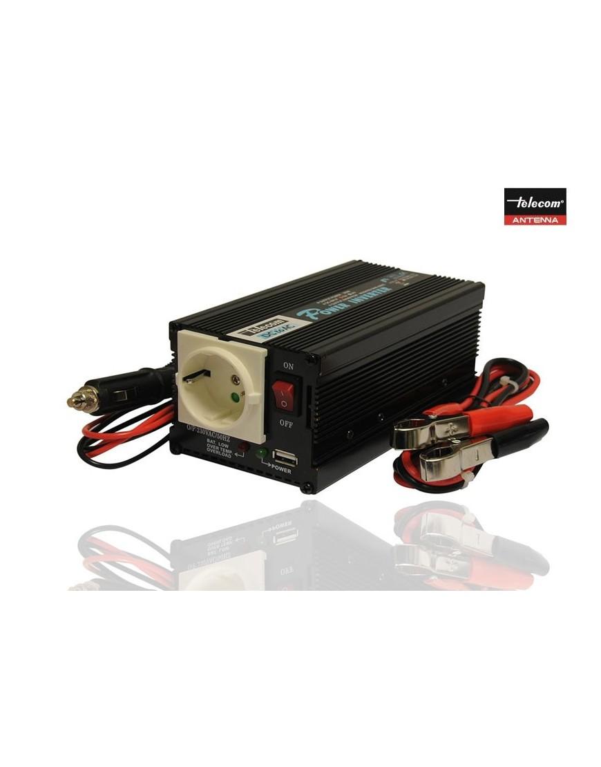 INVERSOR DC/AC 12V /220V /400 W CON USB