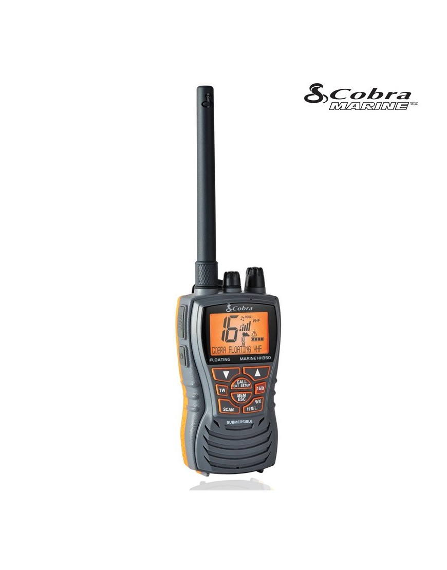 EMISORA VHF COBRA MR HH 350 PORTÁTIL